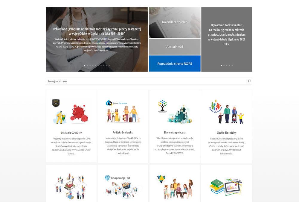 Portal internetowy ROPS